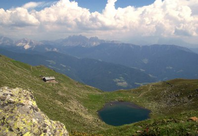 Radlsee oberhalb Feldthurns